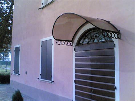 tettoia in ferro e policarbonato foto tettoia in ferro battuto e policarbonato di
