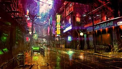 Cyberpunk Neon 4k обои Wallpapers Futuristic неоновые