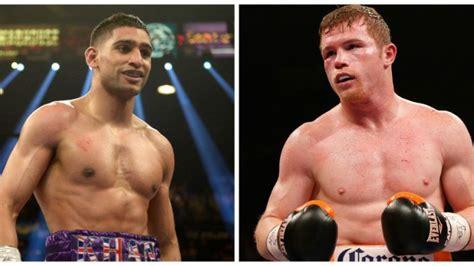 CONFIRMED: Amir Khan will fight Canelo Alvarez in a title ...