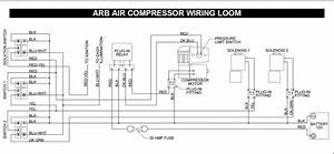 3 Phase Wiring Diagram For Air Compressor