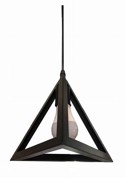 E27 Pl6 Lamp Pendant Triangle Lights Led