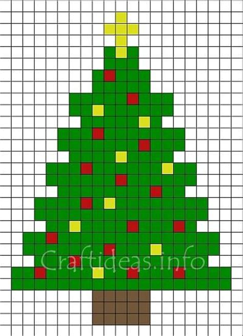 Halloween Hama Bead Patterns by Craft For Christmas Pattern For A Fuse Bead Christmas Tree