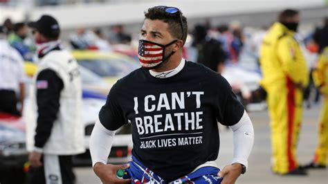 nascar bubba wallace reacts  confederate flag ban