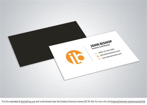Free Business Card Vector Mockup Etiquette Of Business Card Holders Engraved Construction Company Samples Car Holder Desk Acrylic Design Freeware App Mac For Target