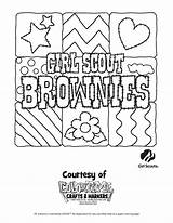 Scout Brownie Pages Coloring Printable Scouts Sheets Brownies Cadette Sunflower Sunny Printables Daisy Template Worksheets Cookie Getcolorings Symbol Popular sketch template