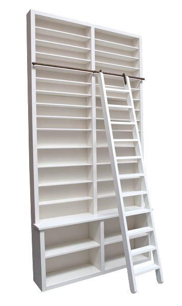 cd kast maken boekenkast met ladder