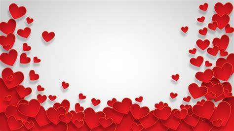 Valentine Hearts Transparent Background