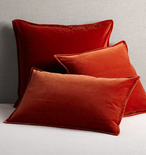 burnt orange pillows italian velvet pillow cover burnt orange rejuvenation