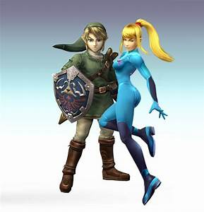 Zero_Suit_Samus_and_Link_by_nightmaredude456