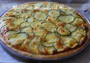 quiche fine aux courgettes et chevre amour de cuisine With cuisine courgette