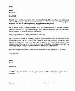 termination letter sample