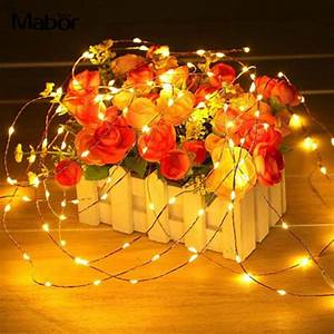 Creative Romantic Fairy Lights Light String 100cm Manual