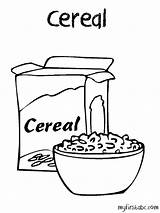Cereal Coloring Pages Drawing Clipart Box Printable Bowl Oatmeal Oats Template Cornflakes Open Drawings Webstockreview Sketch Getcolorings Getdrawings Paintingvalley Print sketch template