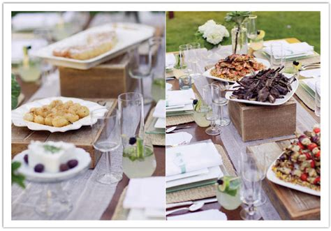 Family-style Catering For A Wine Country Wedding In Los Olivos