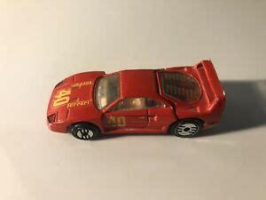 Verkaufe hier einen ferrari f40 im maßstab 1. 1988 Mattel Hot Wheels Pink Ferrari F40 Sports Car Malaysia Made HW1. | eBay