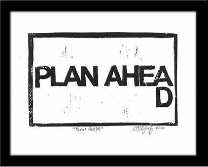 Ahead Plan Success Planning Testing Value Added