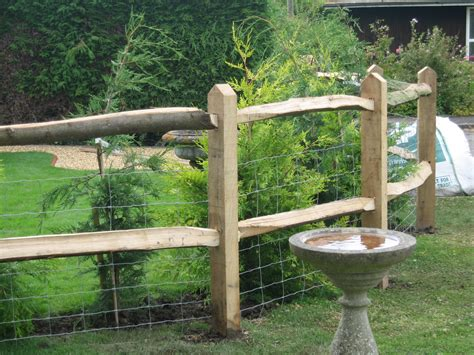 decorative garden fence posts domestic post rail fencing richard stubbs fencing services