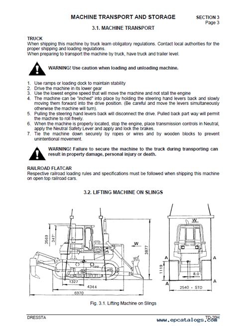 komatsu td   series engine operators manual