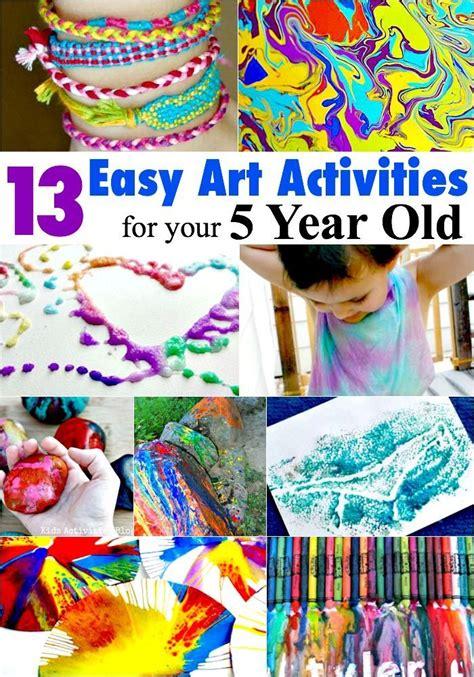 easy art activities    year   year