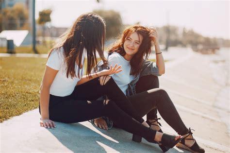 girls talking photo