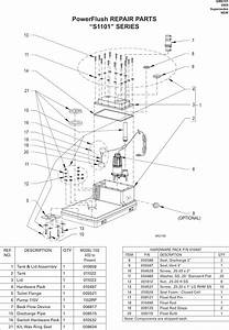 539474 1 Zoeller S1101 Series Power Flush Repair Parts