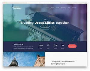 24 Best Free Church Website Templates 2019