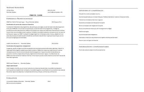 recherche emploi cadre superieur modele cv cadre superieur cv anonyme