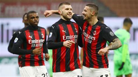 Milan dealt double blow as Rebic and Krunic test positive ...
