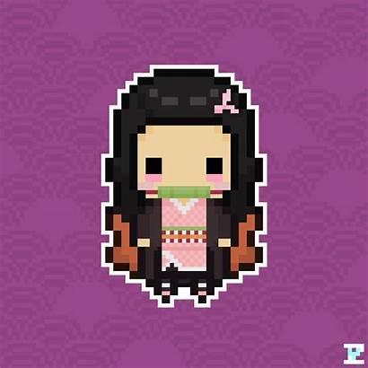 Nezuko Pixel Kamado Chibi Deviantart Favourites