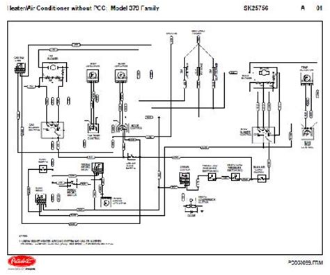 2004 Sterling Truck Wiring Diagram Free Picture by 04 2005 Peterbilt 379 Family Hvac Wiring Diagrams