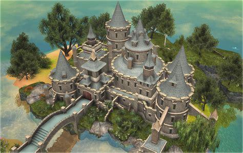 custom scenery depot theme park games castle