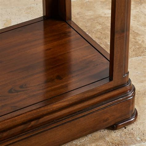 The use of superior blum soft close drawer runners affirms the attention to detail in defining this. Cranbrook Coffee Table in Dark Hardwood | Oak Furniture Land