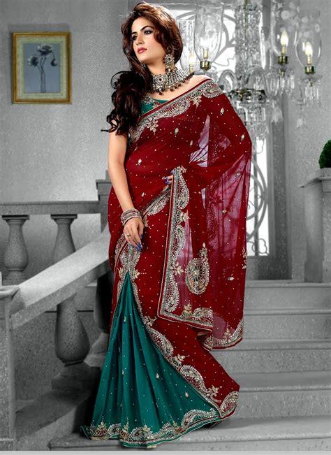 indian readymade saree designs stylish saree style