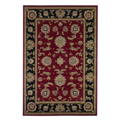 4163 patterned bath rugs kas rugs classic bijar black 5 ft 3 in x 7 ft 7 in