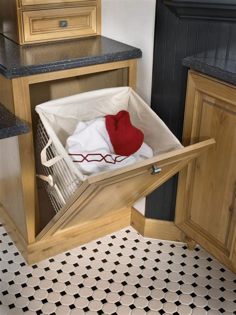 hamper options schuler cabinetry  lowes