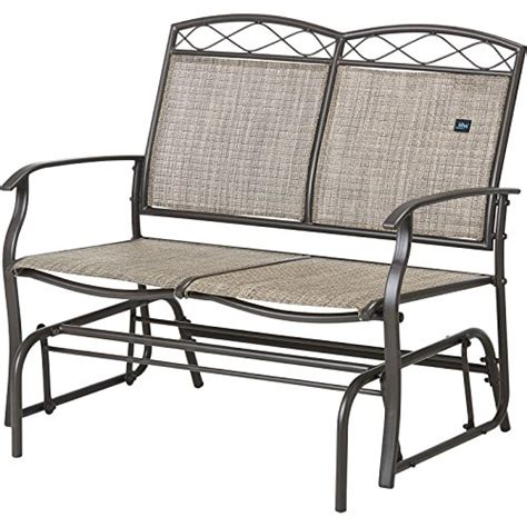 bliss hammocks loveseat glider rocking chairs
