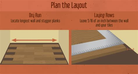 Pattern For Laying Hardwood Flooring by Installing Luxury Vinyl Flooring Fix Com