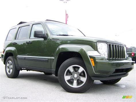 green jeep liberty 2008 2008 jeep green metallic jeep liberty sport 4x4 29956997