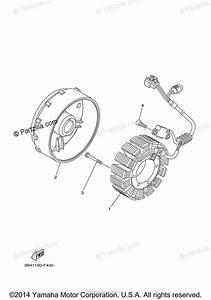 Yamaha Atv 2009 Oem Parts Diagram For Generator