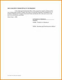 Employee Sheet Template 5 Penalty Of Perjury Statement Employee Timesheet