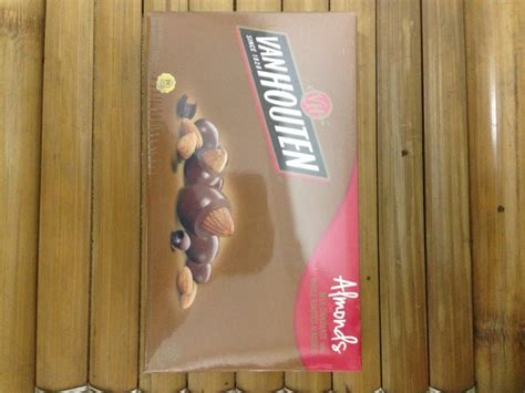 jual coklat van houten gr almond  lapak nikho shop