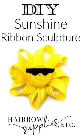 sun ribbon sculpture
