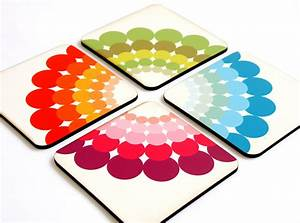 Drink, Coasters, Wood, Coasters, Wooden, Coaster, Colorful