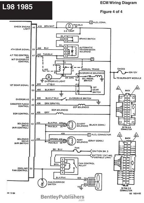 86 Chevy Starter Solenoid Wiring Diagram Free by Wiring Diagram L98 Engine 1985 1991 Gfcv Tech