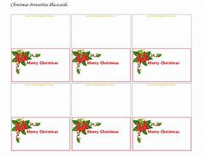 printable christmas table name tags template christmas With table name tags template printable
