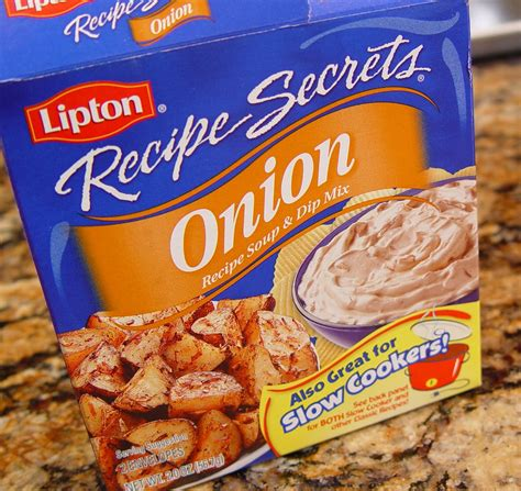 We do not use it for soup or dip but instead i use it in my meatloaf along with 1 pound of ground beef or beef/pork mix, 2 eggs and and for roast and stews it makes your veggies taste good. lipton beefy onion soup mix