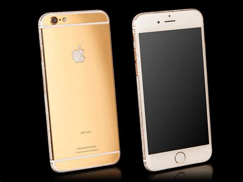 iphone 6 in gold how about a 3 5 million iphone 6 bedazzled with 24kt gold