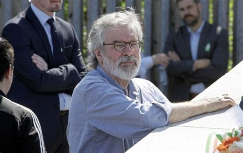 gerry adams calls  dublin government  plan