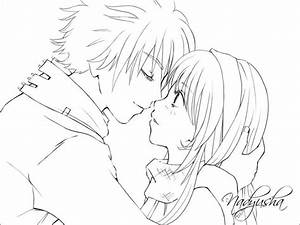 Best anime couple coloring pages | Projects to Try ...