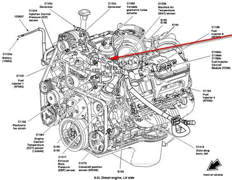 Ford Diesel Engine Wiring by 6 Best Images Of Ford F 350 Engine Diagram 6 0